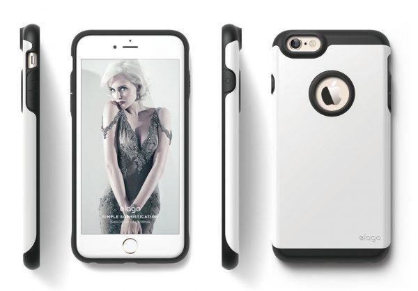 Capinha-iPhone-6-Plus-Capinha-iPhone-6S-Plus-Capa-iPhone-acessórios-smartphone-troca-tela-troca-de-bateria-reparo-iphone-serviços-celular-manutenção-macbook-troca-de-display-iClubFix Capinha iPhone 6 Plus/6S Plus Elago Branca