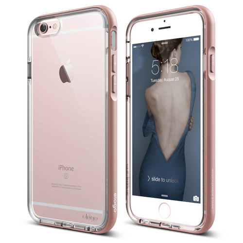 Capinha iPhone 6/6S Elago Dualistic Rose