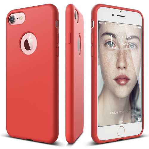Capinha iPhone 7 Slim Soft-ROSE