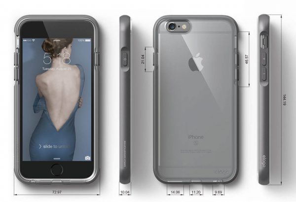 Capinha-iPhone-6-Elago-Acessórios-iPhone-Assistência-Especializada-Apple-Reparo-iPhone-Serviços-celular-Assistência-Smartphone Capinha iPhone 6 Plus/6S Plus Dualistic
